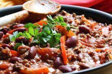 Cómo hacer chile con carne