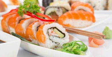 Cómo hacer sushi en casa
