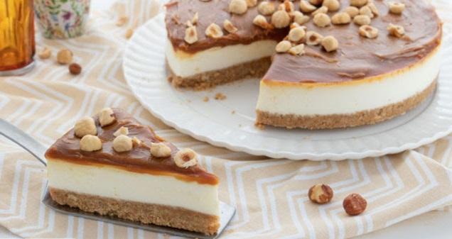 Cheesecake al caramelo